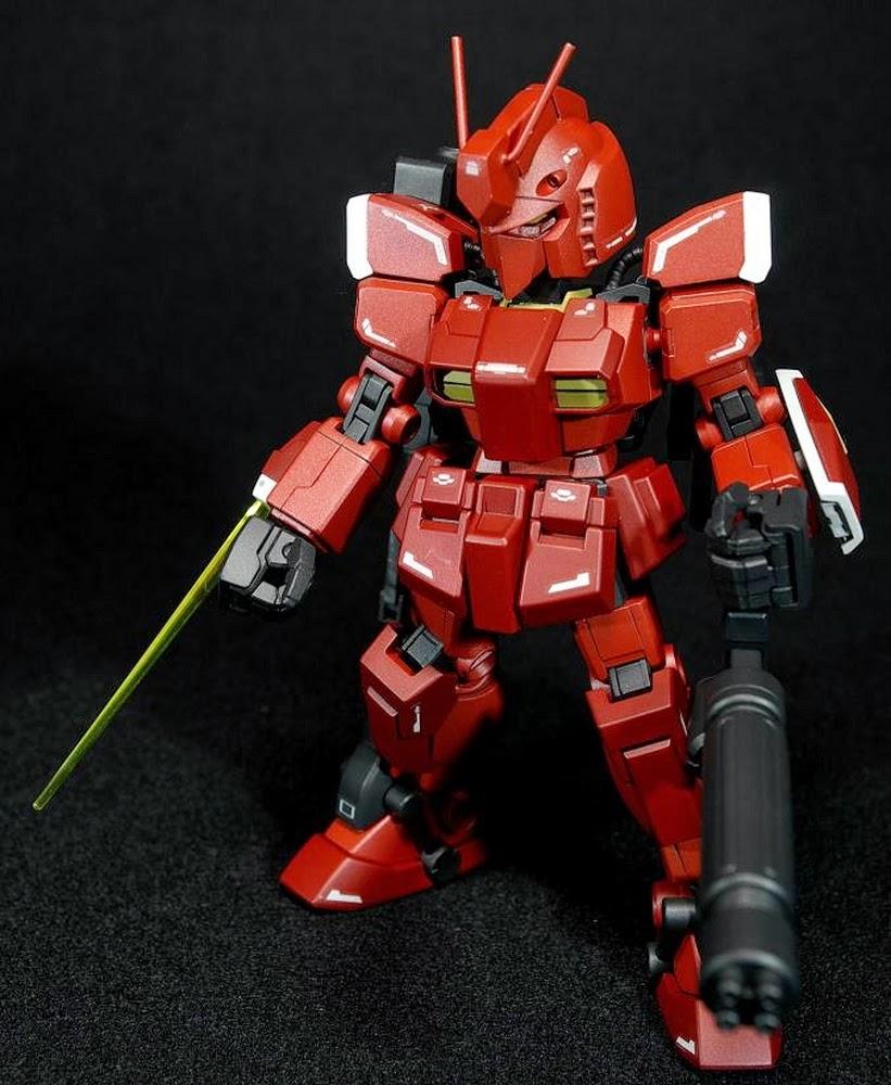 Amazing Red Warrior Paint Scheme