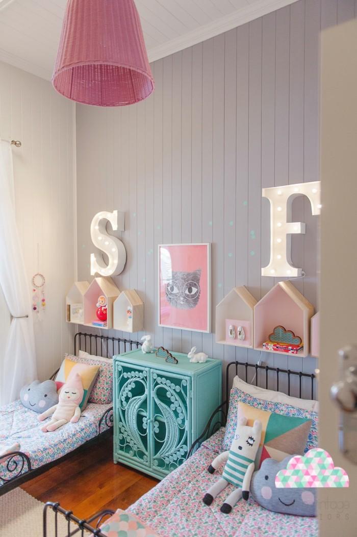 Una habitaci n infantil lowcost y original decorar en for Como decorar tu recamara