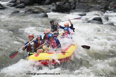 Rafting Progo Bawah