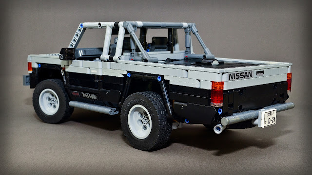 moc nissan datsun d21 hardbody 1996 39 lego technic. Black Bedroom Furniture Sets. Home Design Ideas