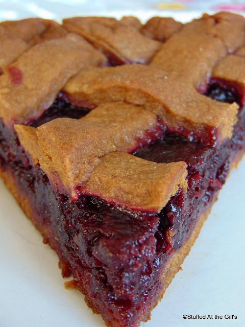 Newfoundland Molasses Partridgeberry Jam Tart