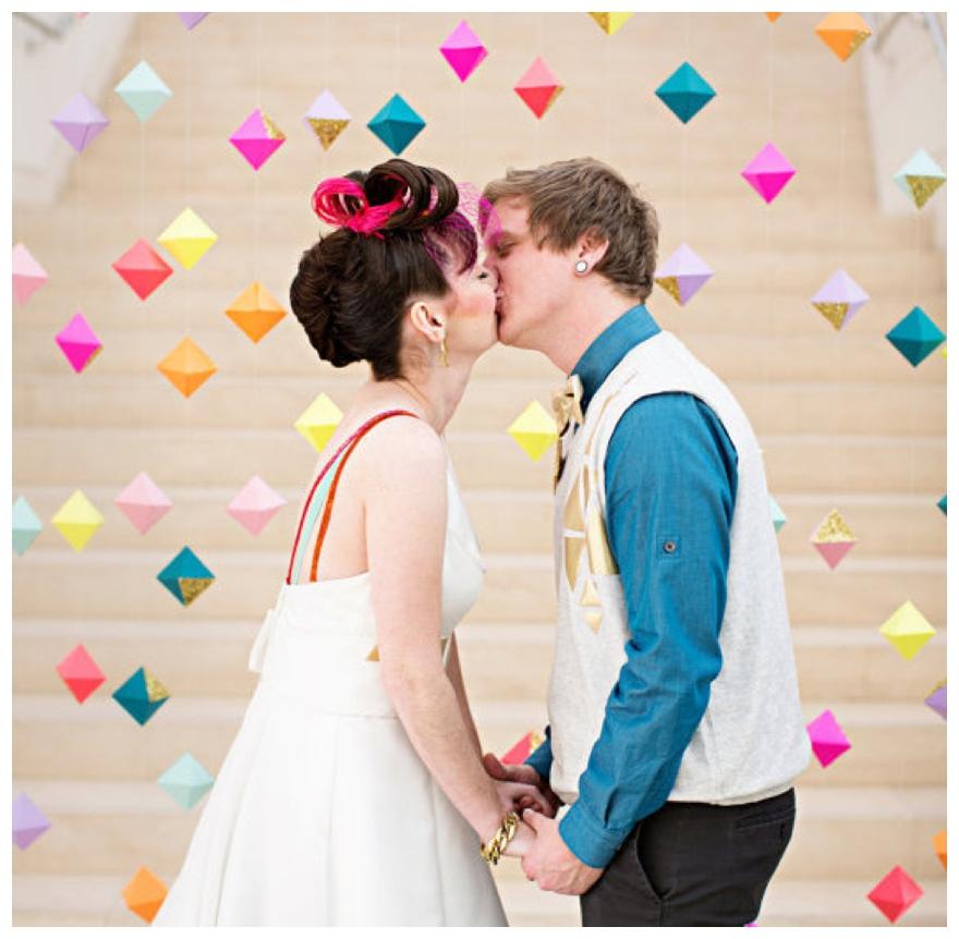 Modern Wedding Backdrop Ideas: Before The Big Day
