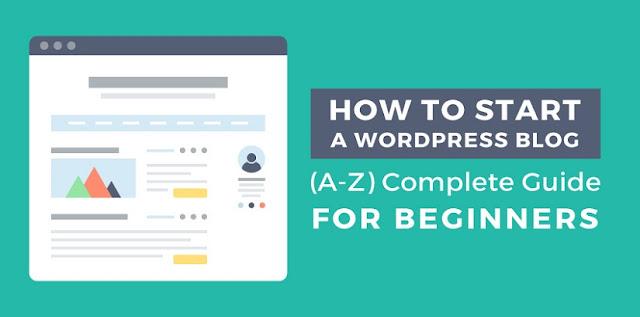 How to Start blog on WordPress 2019