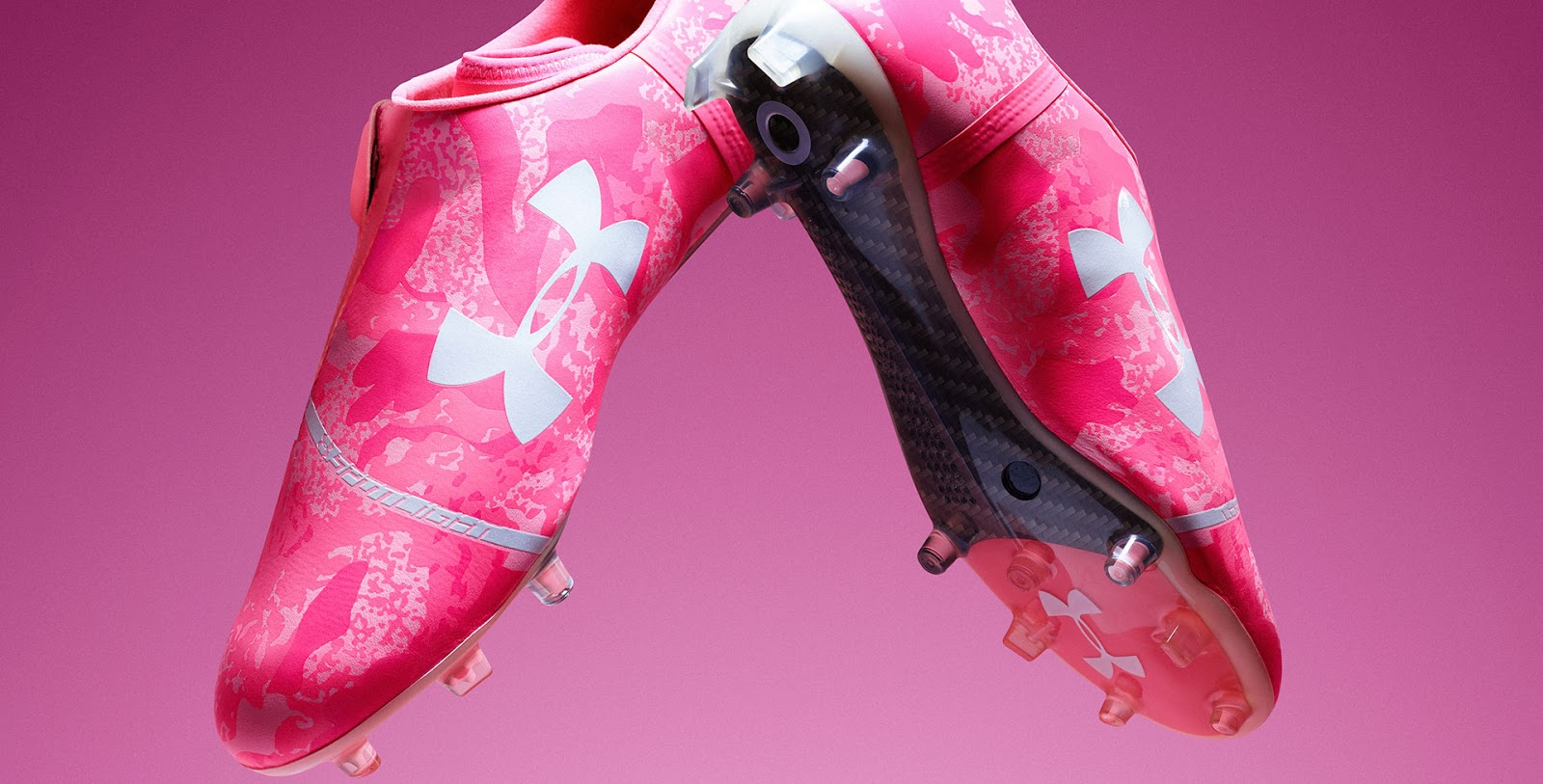 competitive price 85586 d7f1d power in pink ua spotlight and clutchfit