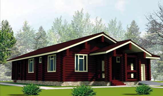 Country house plans modern design by olga davydova for Contemporary country house plans