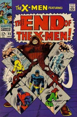X-Men #46, the Juggernaut