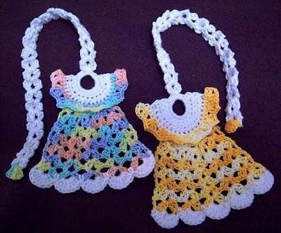 Patrones de Crochet Mini Vestidos para Regalar