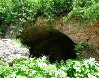 Тараканівський (Дубенський) форт. Вхід в підземний тунель