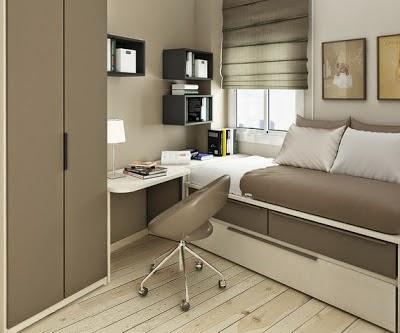 cama cuarto pequeño