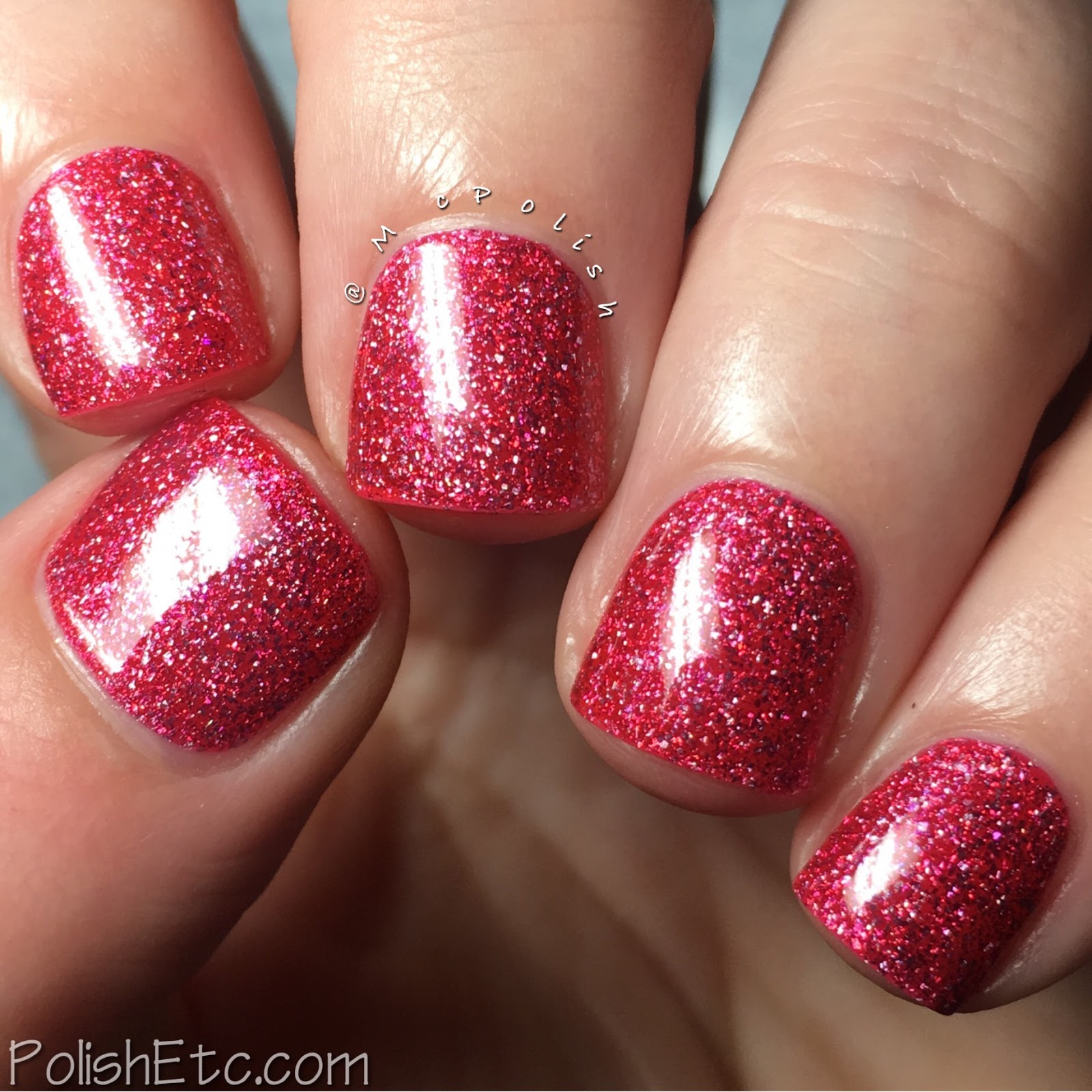 Nine Zero Lacquer - Extreme Weather Collection - McPolish - Heatwave