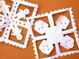 tutorial to cut lego snowflakes