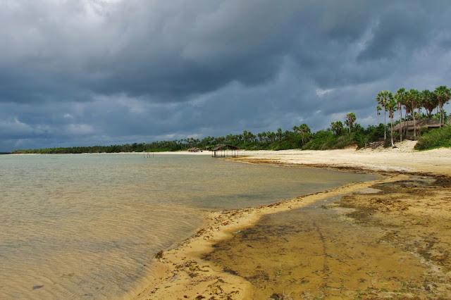 Lagoa da torta, em experiência de Turismo Comunitário na vila de Tatajuba