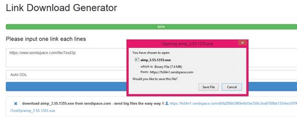 Cara Mempercepat Proses Download Menggunakan Link Download Generator