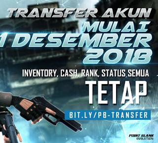Point Blank Indonesia (PB) akan pindah publisher ke Zepetto Interactive Indonesia siap-siap pindahan akun