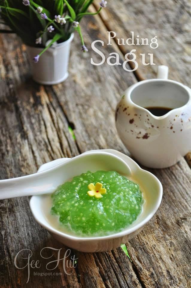 Resepi Puding Sagu by Gee Hut