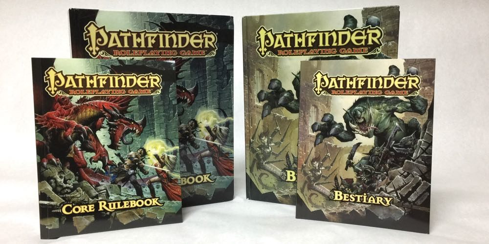 Pathfinder Roleplaying Game Core Rulebook and Bestiary - Pocket