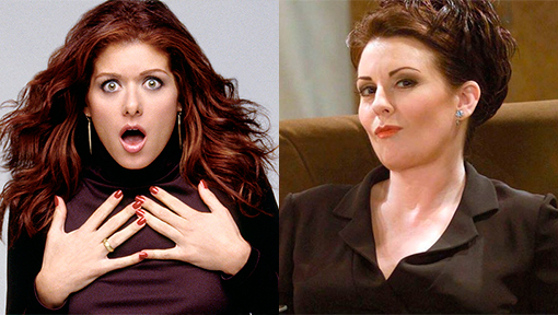 Grace Adler Karen Walker