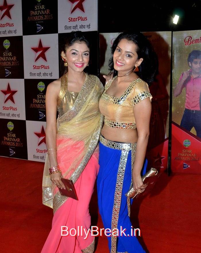 Pooja Sharma, Asha Negi Simone Singh Hot HD Images At Star Parivaar Awards 2015 Photo Gallery