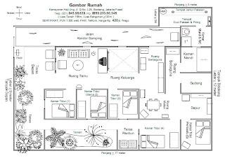 Contoh Gambar Denah Rumah Minimalis Blogapaaja Www Bahasa Inggris