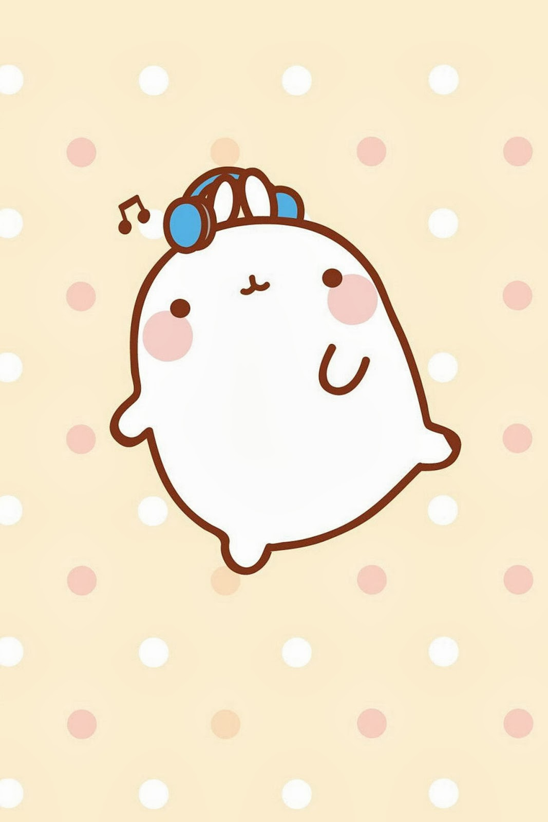 Snow White Wall Stickers Molang Iphone Wallpaper Www Imgkid Com The Image Kid