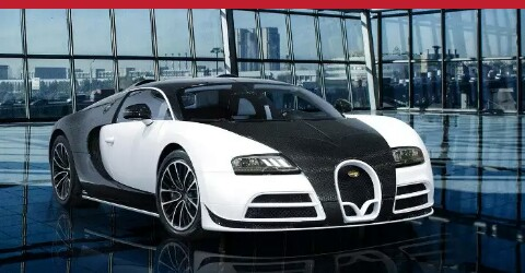 6.Limited Edition Bugatti Veyron by Masory Vivere