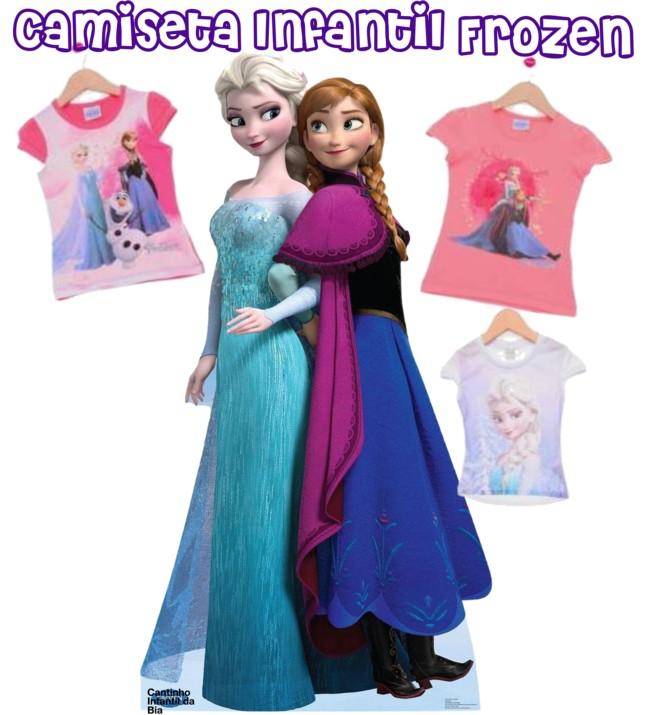 moda, moda infantil, frozen, camiseta infantil