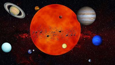 Mengenal susunan planet di tata surya kita