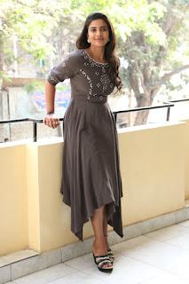 Actress Aishwarya Rajesh Stills at World Famous Lover Interview