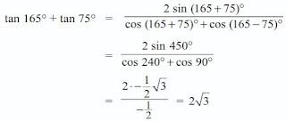 Rumus Jumlah dan Selisih Dua Sudut (Sin Cos dan Tan)