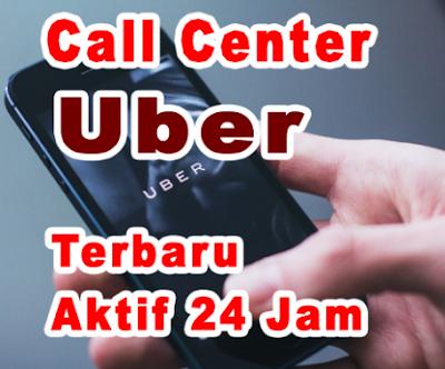 Call Center Uber Bebas pulsa 24 Jam