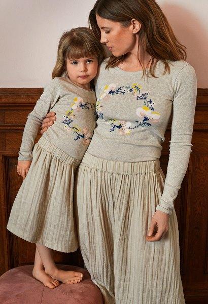 49a7b7a1daa 15 år udelukkende med økologi og bæredygtighed! Her nederdel og bluse fra  jubilæumskollektionen :-)