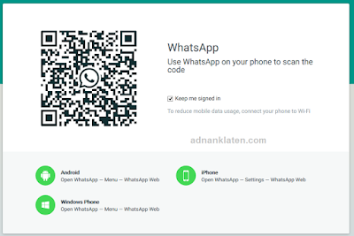 Cara menggunakan whatsapp di PC atau Laptop