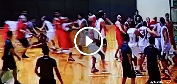 Barako Bull - Jordan Nat'l Team Tune-up Game Ends With Brawl (VIDEO)