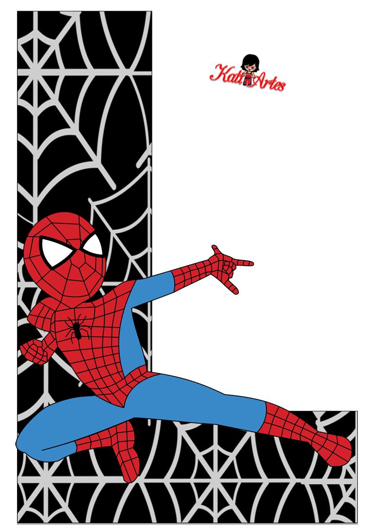 Free Printable Spiderman Letters
