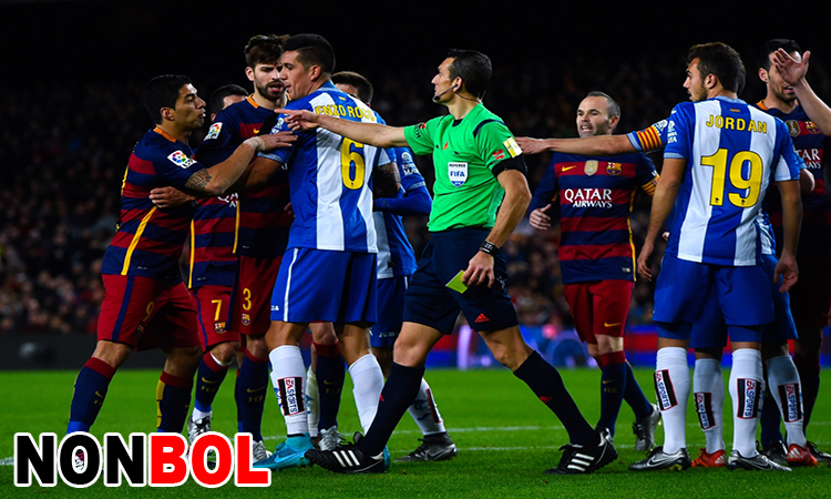 Cuplikan Gol Barcelona 0-1 Espanyol | Leg 1 Babak 8 Besar Copa Del Rey