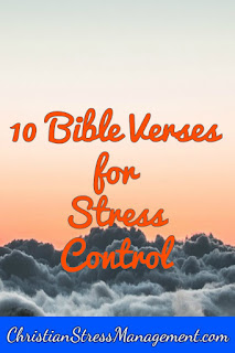 10 Bible Verses for stress control
