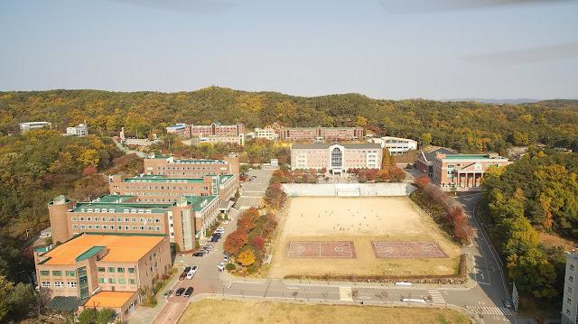 Toàn cảnh Trường đại học Kookje Hàn Quốc