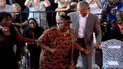 Watch Barack Obama Unleash Some Dance Moves in Kenya