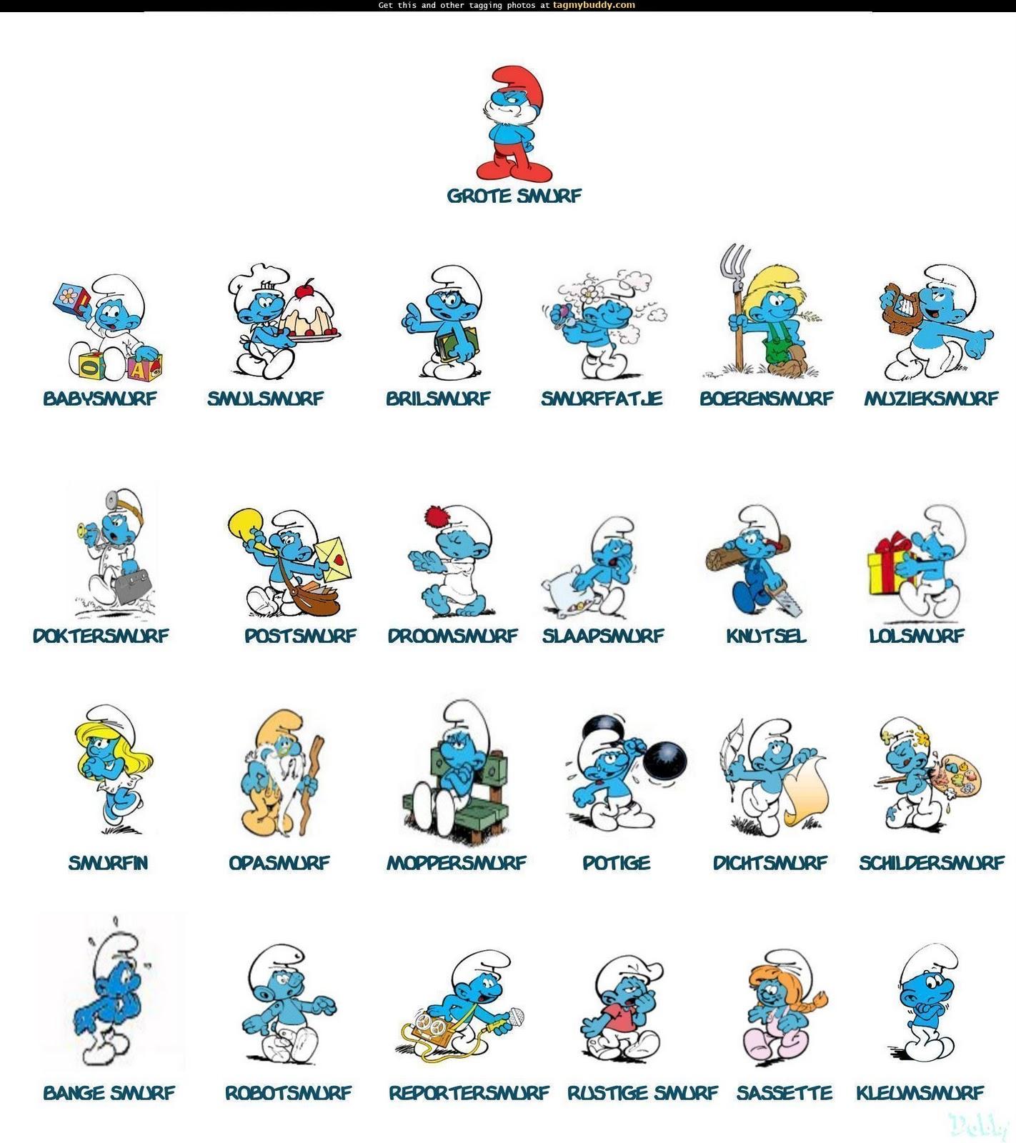 My Blue World I Love The Smurfs