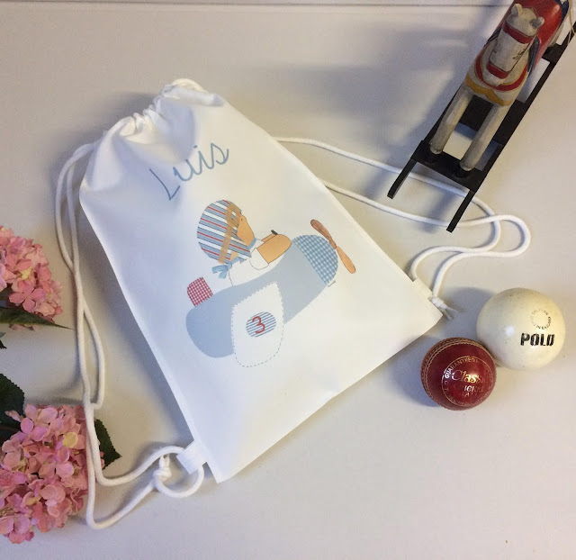 mochilas infantiles escolar guardería personalizadas con nombre