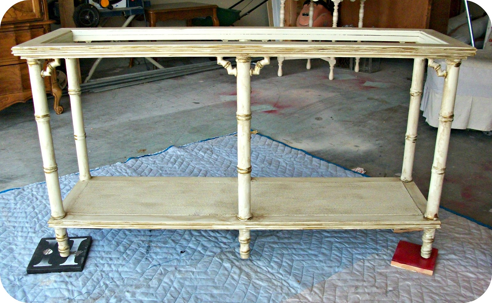 legare bamboo sofa table ashley furniture darcy and loveseat outdoor ficks all