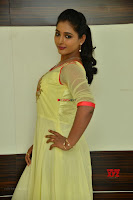 Teja Reddy in Anarkali Dress at Javed Habib Salon launch ~  Exclusive Galleries 009.jpg