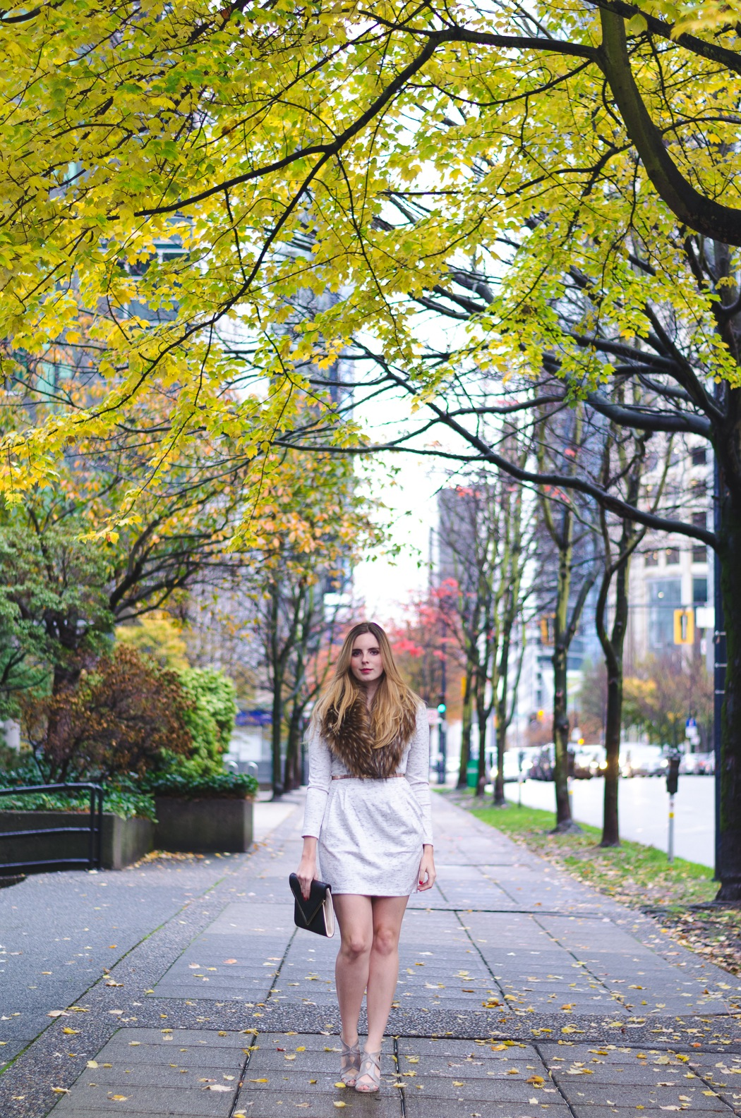 the urban umbrella style blog, vancouver style blog, vancouver style blogger, vancouver style bloggers, vancouver fashion blog, vancouver lifestyle blog, vancouver health blog, vancouver fitness blog, vancouver travel blog, canadian fashion blog, canadian style blog, canadian lifestyle blog, canadian health blog, canadian fitness blog, canadian travel blog, west coast style, bree aylwin, how to style a faux fur collar, what to wear to a holiday party, how to look stylish in winter, stylish datenight outfit, how to wear a long sleeve dress, best travel blogs, top vancouver fashion bloggers, top fashion blogs, best style blogs 2015, popular fashion blogs, top style blogs, top lifestyle blogs, top fitness blogs, top health blogs, top travel blogs bundled up for fall, how to dress for vancouver fall, what to wear in. Living in Vancouver, feminine fall style, minimal outfit, west coast style, vancouver blogger