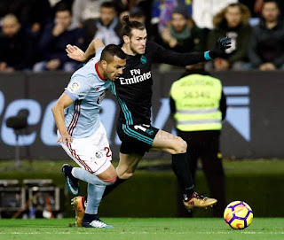Real Madrid derrota al Celta con doblete de Gareth Bale