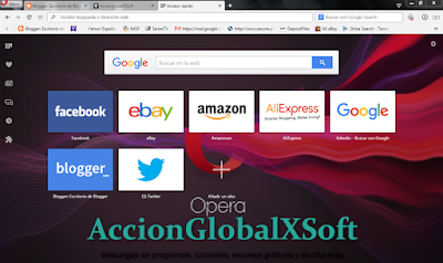 Nueva versión de Opera. Instalador offline