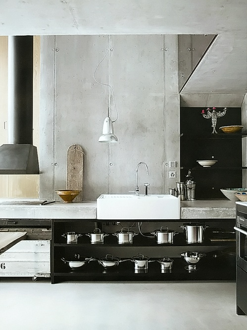 15 Design Ideas For Kitchens Without Upper Cabinets: Kitchen… Without What? Upper Cabinets!