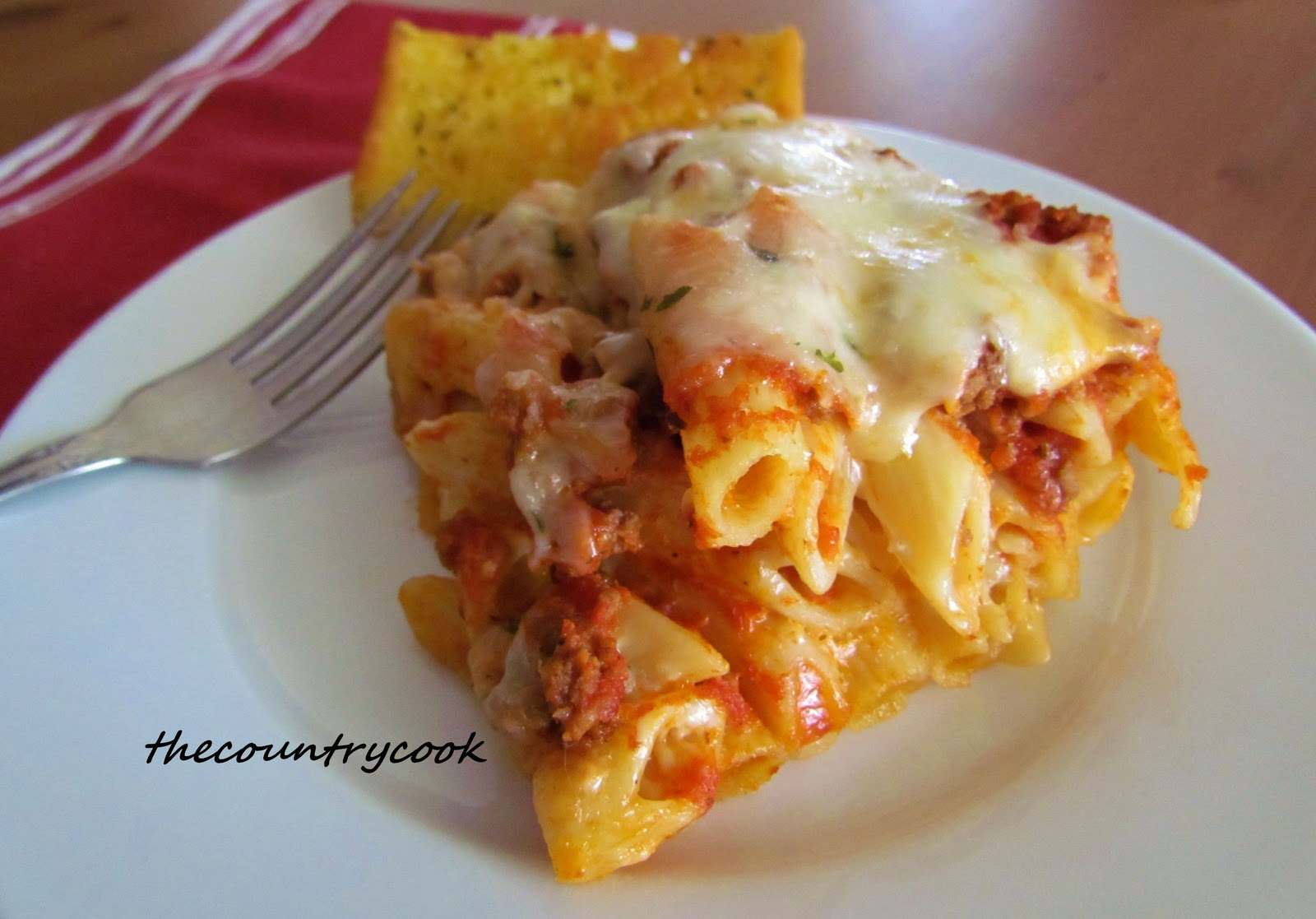 Mel S Kitchen Cafe Baked Ziti