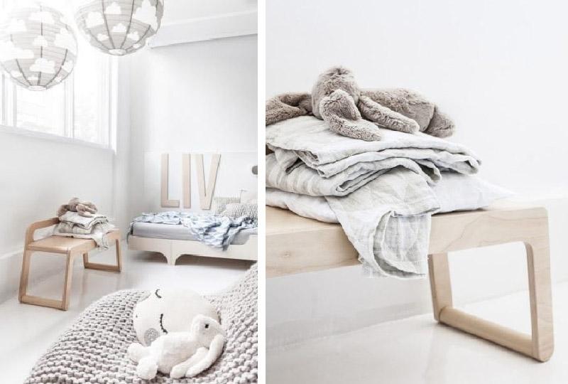 complementi in legno e tessili naturali di Rafa Kids