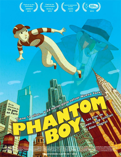 Ver Chico fantasma (Phantom Boy) (2015) Onlline