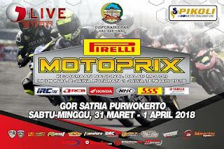 Kejurnas Motoprix Putaran 1 Region 2 Purwokerto 1 April 2018